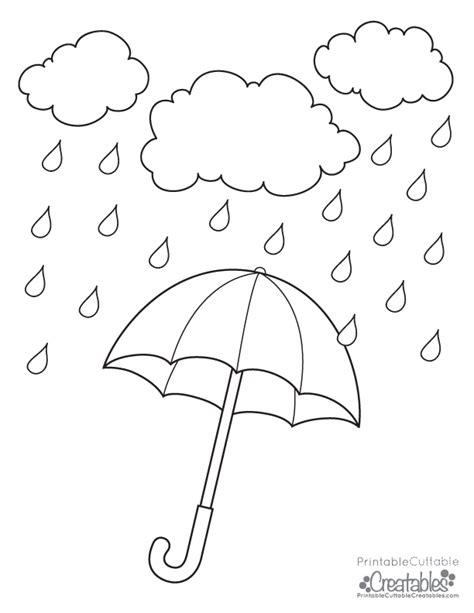 preschool coloring pages rain drudge report co free printable rain coloring pages coloring home