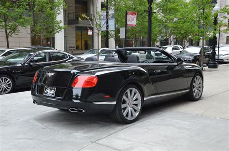 bentley for sale chicago 2013 bentley continental gtc v8 stock gc1807 for sale