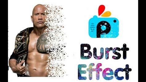 tutorial picsart burst effect make a burst effect picsart tutorial youtube