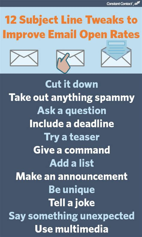 email subject lines 12 easy to follow exles