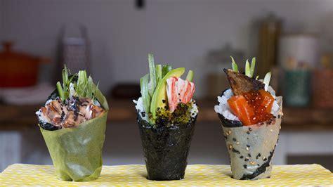 Cetakan Sushi Roll Cone temaki more photos