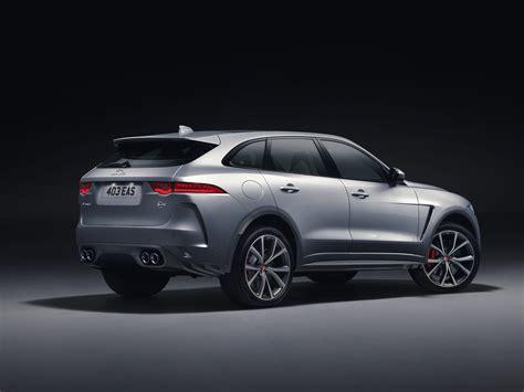 jaguar svr 2019 jaguar unveils f pace svr