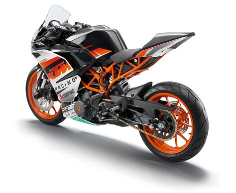 Ktm 390 Race Bike Ktm Announces Details Of The Rc 125 200 And 390 At Eicma
