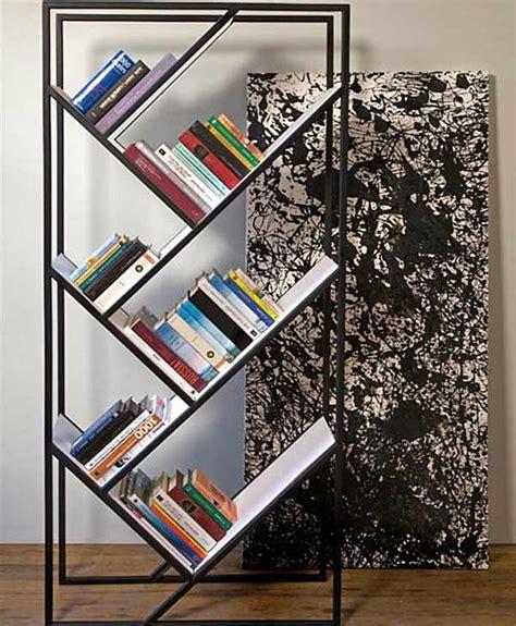 desain rak buku minimalis gambar rumah idaman
