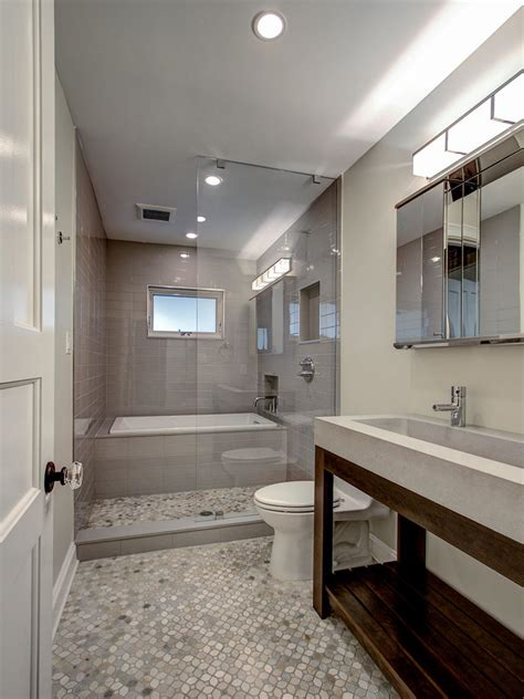 bathroom designs with shower and tub photo page hgtv