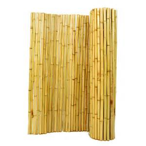 Faux Blinds Walmart Shop Backyard X Scapes 1 In Dia X 6 Ft H X 8 Ft L Natural