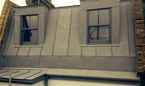 Zinc double-storey extension in Battersea - Metal Roof Ltd