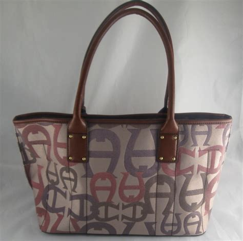 Divarshy Aigner Logo A Branded shopping for branded items aigner monterey tote