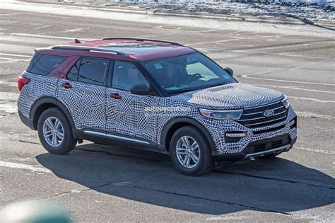 2020 Ford Explorer by 2020 Ford Explorer Looks Plasticky In Most Revealing