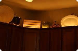 above cabinet accent lighting for the home