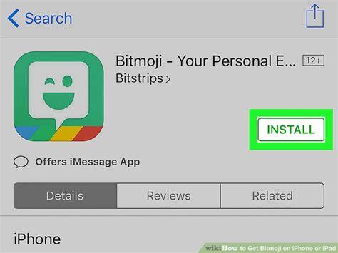 bitmoji  iphone  ipad  steps  pictures