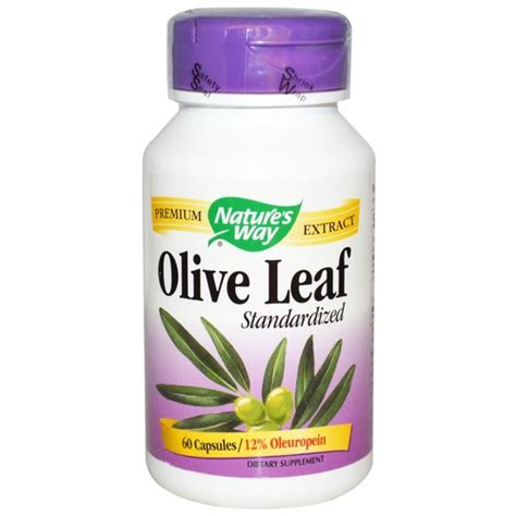 Olive Leaf Detox For Dogs by Nature S Way Olive Leaf Standardized 500 Mg 12