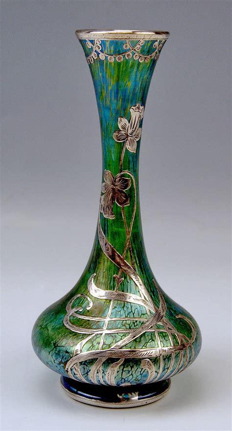 Loetz Papillon Vase by Vase Loetz Widow Nouveau Creta Papillon Gorgeous