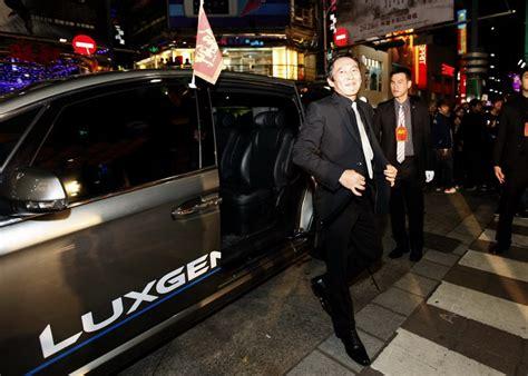 Lu Sorot Motor U7 luxgen7 mpv受邀擔任電影 艋舺 首映會禮賓車