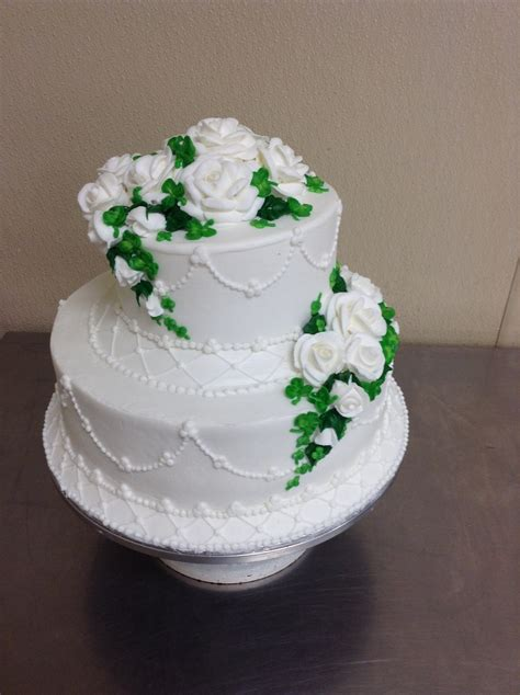 Wedding Day Cake by St Quot S Day Wedding Cake Cakecentral