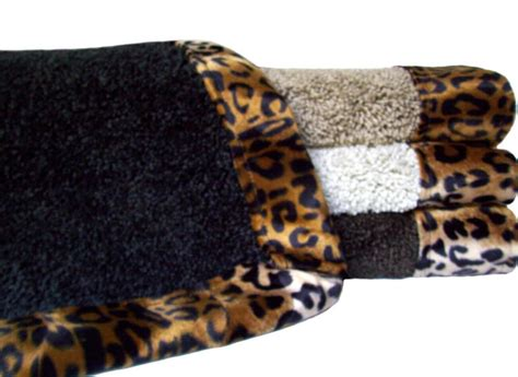 40 Best Images About Master Bathroom On Pinterest Leopard Bathroom Rugs
