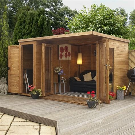 Small Summer House Shed sasila aston 10 x 7 5 wood shed