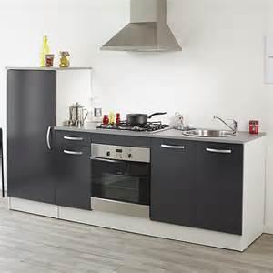 ensemble de meubles de cuisine gris miam cuisines