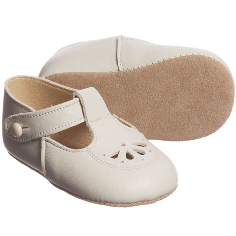 pre walker shoes early days ivory leather robin pre walker shoes