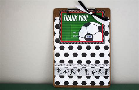 Coach Gift Card - free printable this soccer gift for coach is a kick gcg