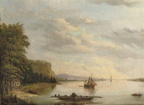 ferry abraham abraham nicolaas godefroy dutch 1822 1899 the ferry