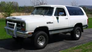 89 Dodge Ramcharger 1989 Dodge Ramcharger