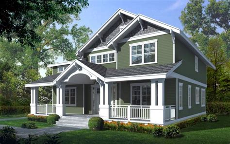 family home plans craftsman cottage house plans