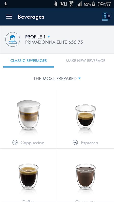 Coffe K Link de longhi coffee link android apps on play