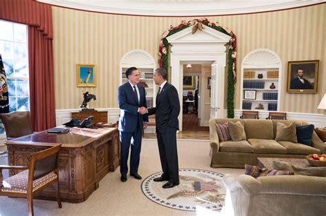 The Oval Office Suite by File Mitt Romney And Barack Obama Oval Office Meeting 2012