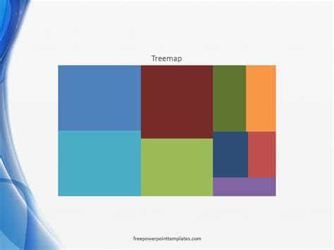 use powerpoint template powerpoint 2016 charts treemap