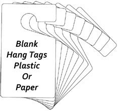 custom hang tags parking permit stickers car hang tags