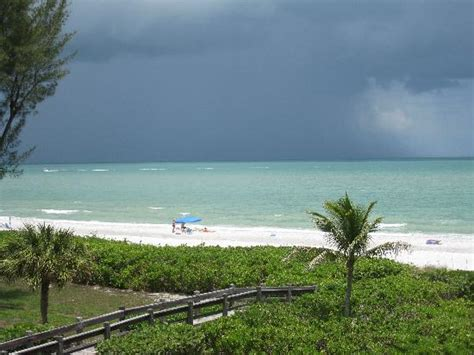 afternoon storms rolling in picture of sanibel cottages
