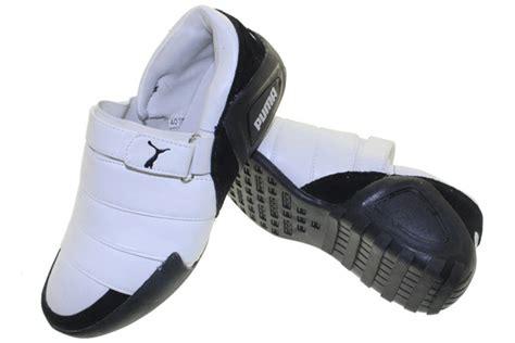 Sepatu Selop Nike Pria Kulit Terbaru 2 sepatu selop lapis putih hitam