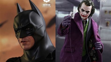 Toys 14 Joker The Ht Qs010 Batman toys releases 1 4 scale batman and joker figures for the s anniversary nerdist