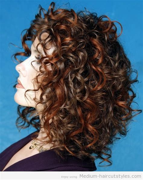 permed hair stules for women in their 40 12 best images about women s medium curly hair styles on