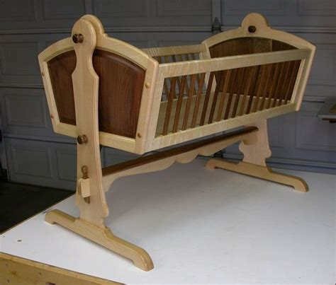 baby cradle plans pdf woodworking projects plans