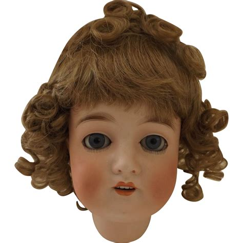bisque doll heads antique antique bisque doll from antiquedolladdiction on ruby