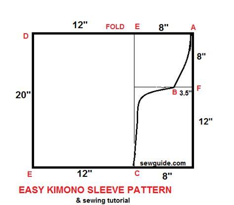 pattern making kimono sleeve kimono sleeves how to make one for your dress 2 ways