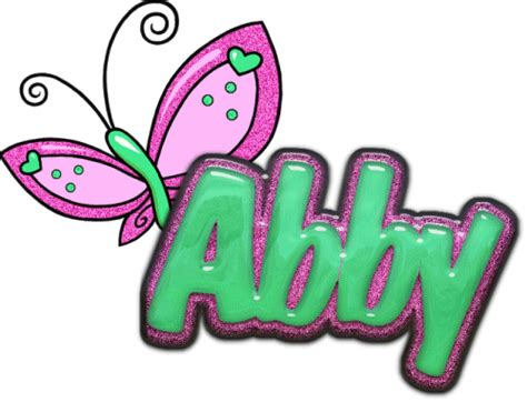 coloring pages of the name abby abby name graphics picgifs com