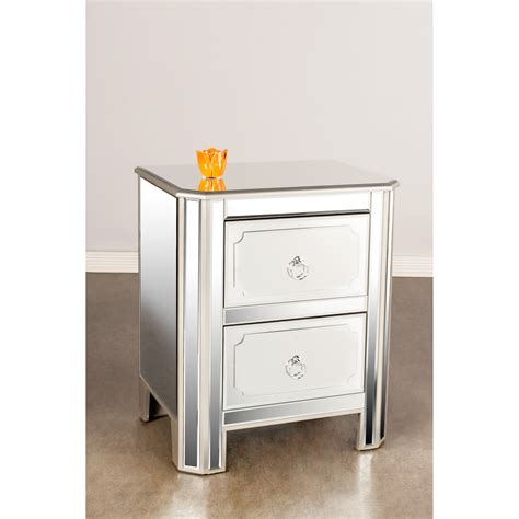Mirrored Glass Nightstand Sophisticated Glass Top Nightstand Design Home Furniture Segomego Home Designs