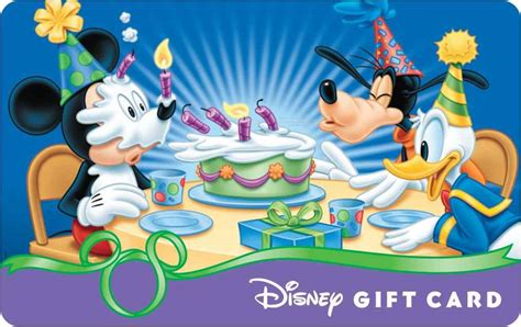 Free Disney Gift Cards - birthday card free popular disney birthday card disney birthday cards free printable