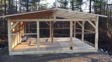 timber frame storage shed youtube