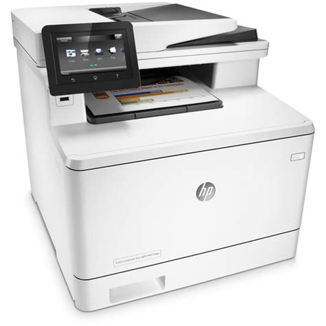 Printer Laser Hp All In One hp color laserjet pro m477fdn all in one laser printer cf378a
