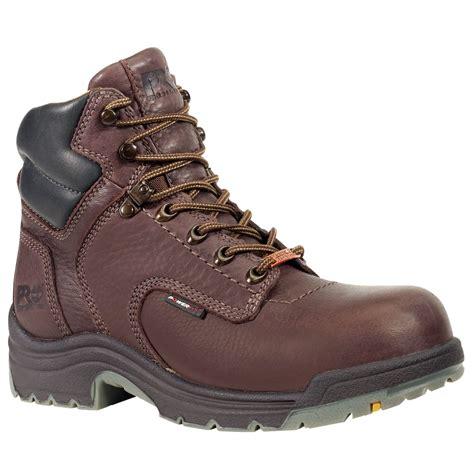 timberland s titan 6 quot waterproof work boots