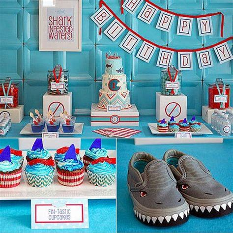 baby shark themed party 97 best baby shower ideas shark or sea creature theme