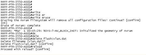 reset nvram cisco router write erase cisco loading a boot image onto the cisco asa