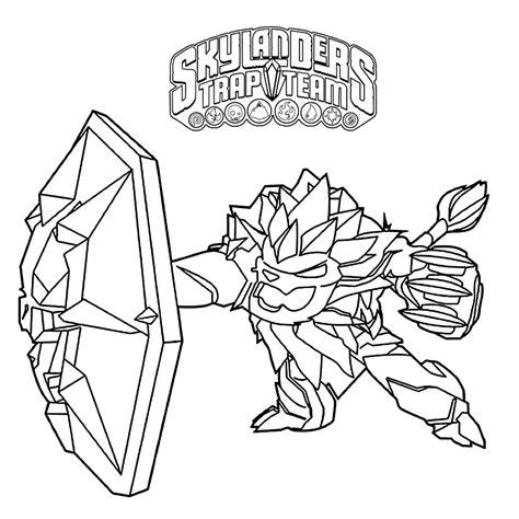 Free Coloring Pages Of Er Skylander Skylanders Trap Team Coloring Pages