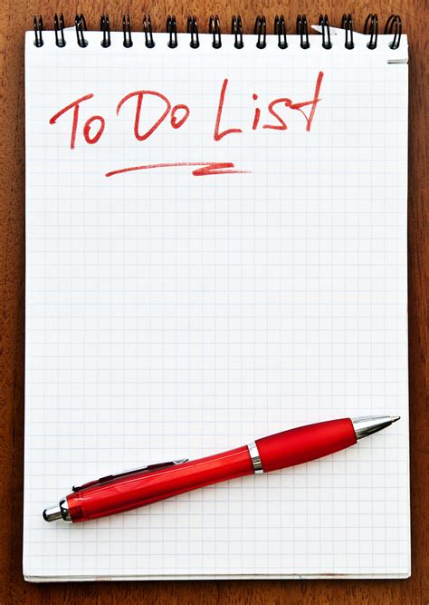 get rid of your to do list preuett rest stop for