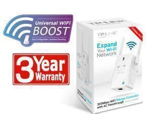 Tp Link Tl Wa860re 300mbps Universal Wi Fi Range Extender wireless extenders from netgear and tp link to buy now