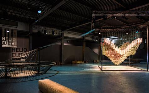 designboom milan design week 2015 hyundai helio curve sculpture in motion 2 0 at 2015 milan